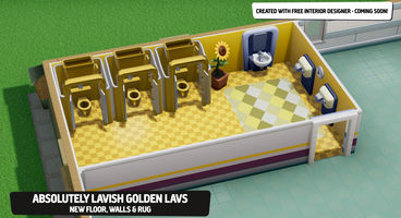Two Point Hospital Mod Support Launches with Interior Designer