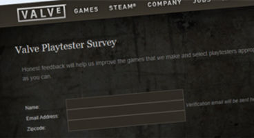 Valve looking for testers to try out games and