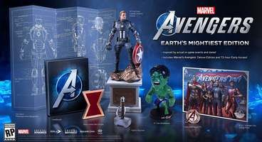 Square Enix Announces Marvel's Avengers: Earth's Mightiest Edition, Deluxe Edition and Pre-Order Bonus Details