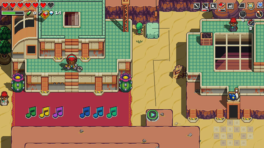 Cadence Of Hyrule Gerudo Village Puzzle Guide Gamewatcher