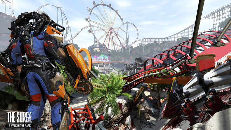 Dark Souls In Disneyland? The Surge expansion 'A Walk In The Park' coming December <UPDATE: First Trailer!>