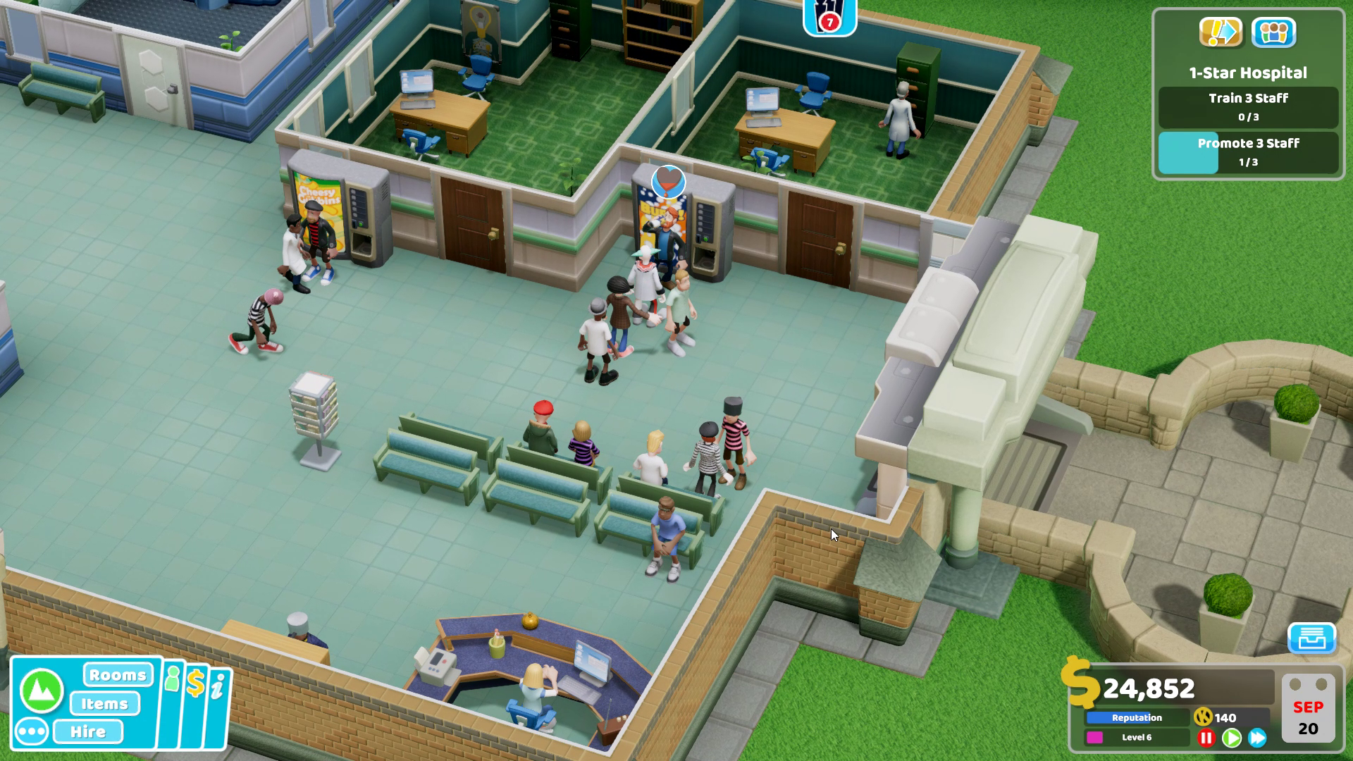 Two Point Hospital PC Preview   GameWatcher