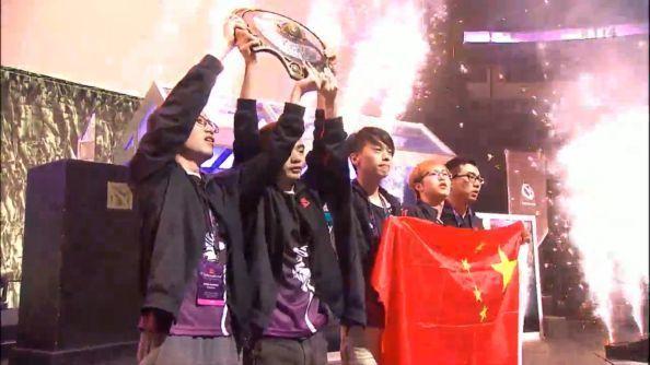 Chinese team Newbee win The International 2014