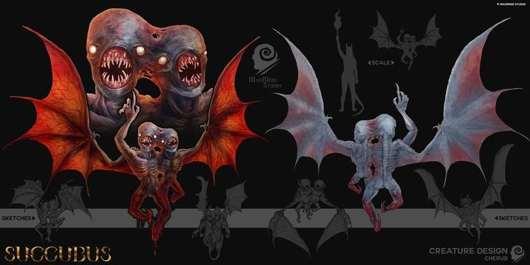 Agony spin-off Succubus presents the Cherub in New Trailer