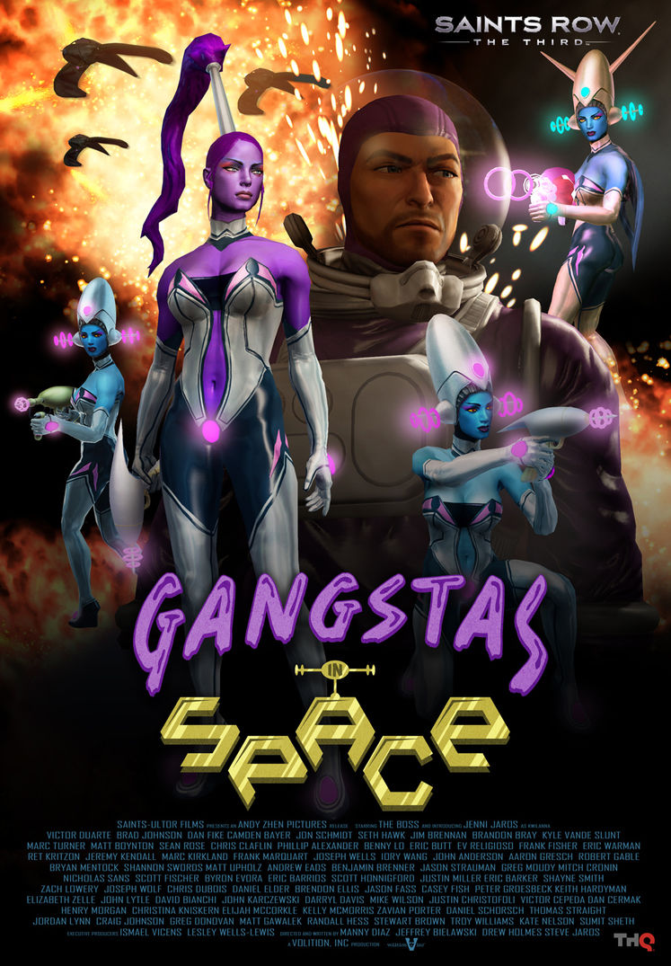Gangstas in Space DLC hits Saints Row: The Third on 21st February