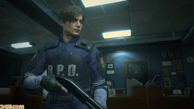 Resident Evil Remake 2: STARS Office Shown-off
