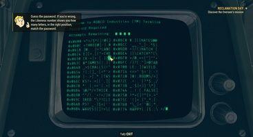 Fallout 76 Hackable Terminals - Level 3 Terminal Locations