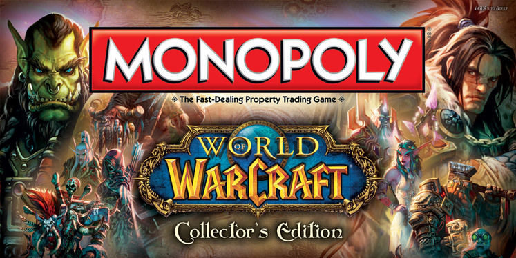 Hasbro announces World of Warcraft Monopoly and Starcraft Risk board games