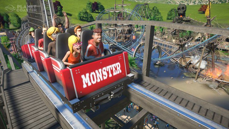 Planet Coaster Classic Rides Collection and Copperhead Strike Coming Next Week