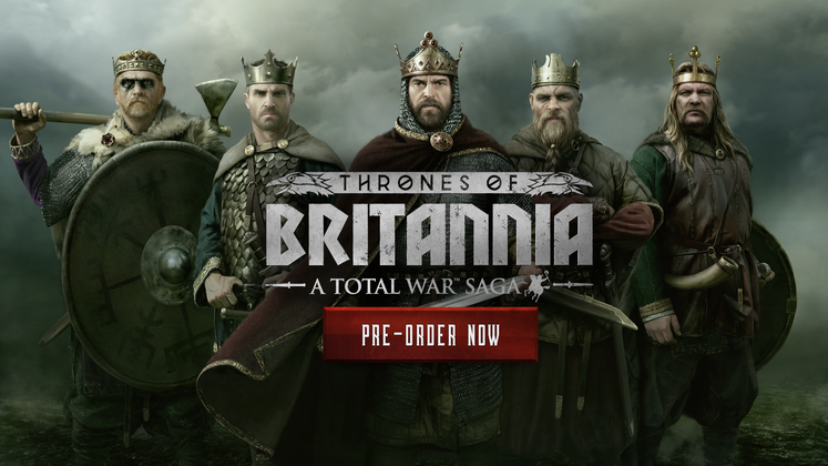 Total War Saga: Thrones of Britannia slips to May