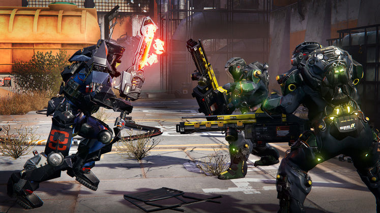 Hunt for 10 new (and free) elemental weapons in The Surge: Fire & Ice weapon pack DLC