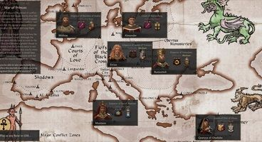 Crusader Kings 3's Princes of Darkness Mod Lets You Play As An Immortal Vampire