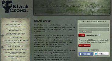 Book publisher Random House starts ARG Black Crown Project