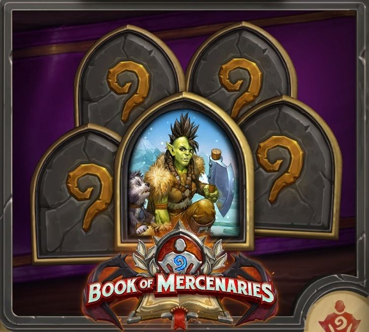 Hearthstone Book of Mercenaries Rewards - What You Get for Completing Each Chapter