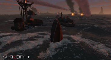 Third person naval shooter SeaCraft on Indiegogo