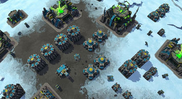 Planetary Annihilation updated with new orbital camera, interplanetary nukes