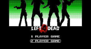Pixel Force: Left 4 Dead, a retro take on the Left 4 Dead series