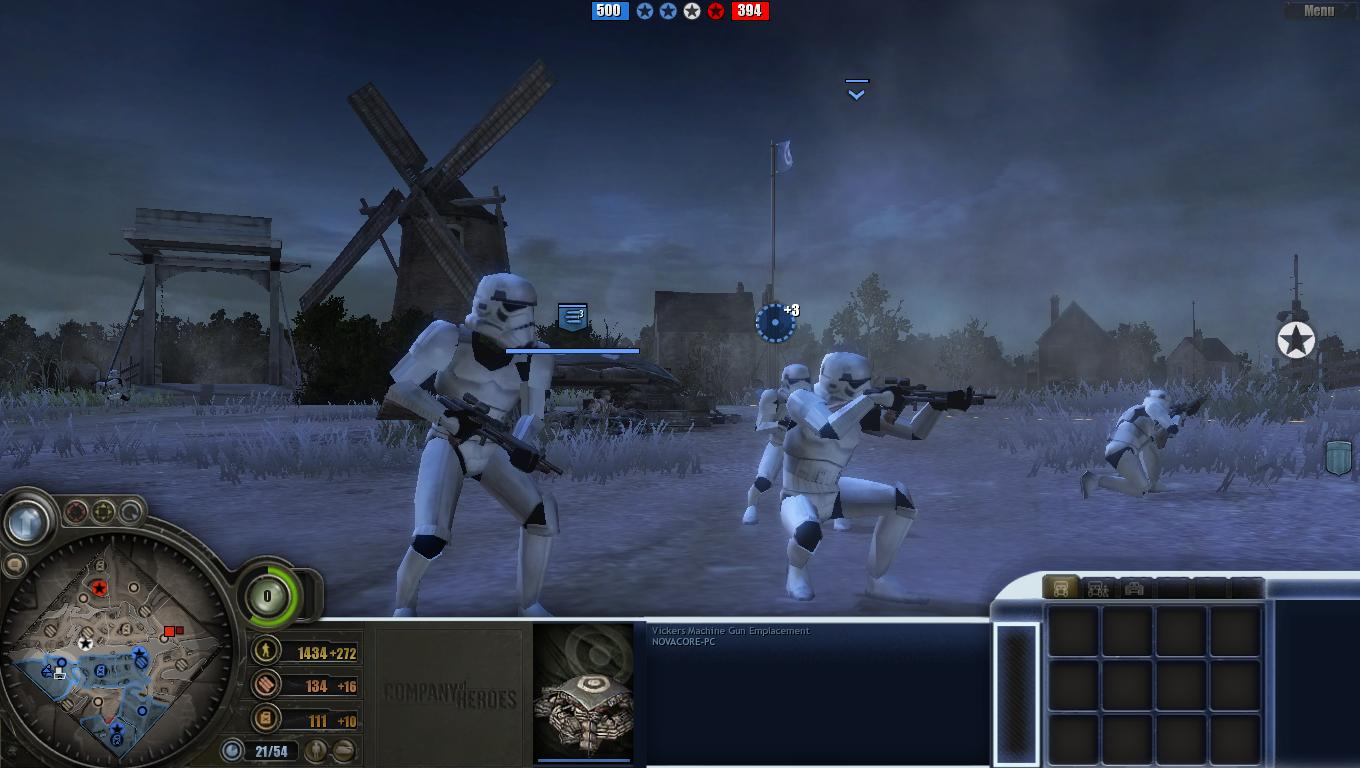 Want A New Star Wars RTS? Frontlines - Galactic Civil War Is