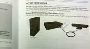 Kinect manual leaked, do not