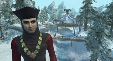 Q returns to spread joy and mayhem in Winter Wonderland update for Star Trek Online