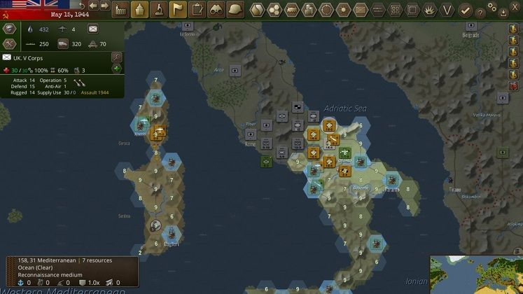 WarPlan fulfills most of its goals as a simplified World War II Sim