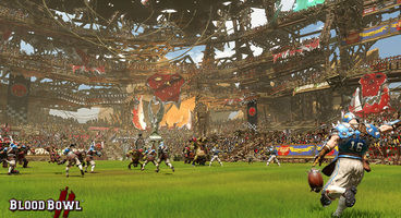 Blood Bowl 2 features upgradeable stadiums, pitch invasions