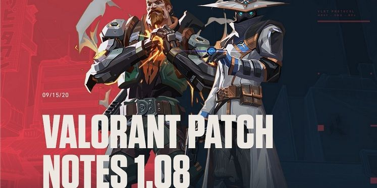 Valorant Patch Notes - Update 1.08 Brings Map Rotation Changes, Guardian Buff and More