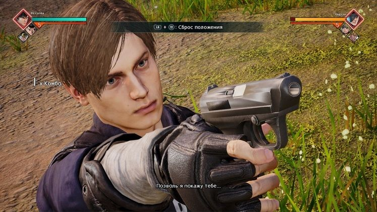 Play as Resident Evil 2 Leon Kennedy in this Jump Force Mod