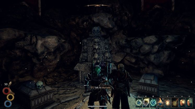 Outward Corrupted Tomb - How to Help Myriade in Corrupted Tomb