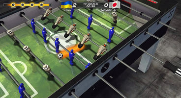 Foosball 2012 announced for PS3 with Move support, crossplatform play with Vita
