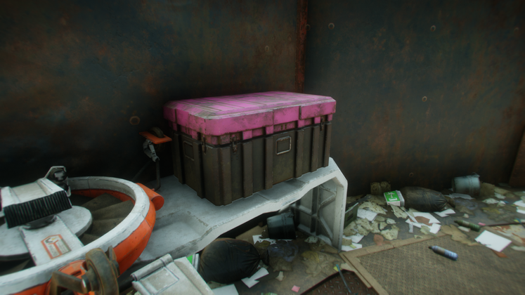 Rage 2 Storage Containers - How to easily find Storage Containers