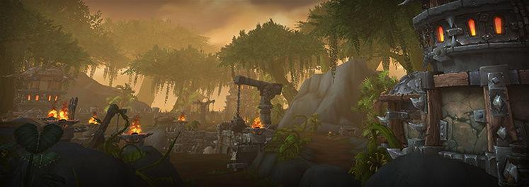 Warlords of Draenor blog post highlights new Tanaan Jungle location