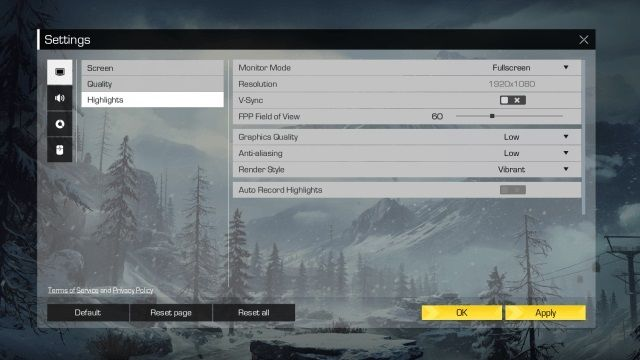Ring of Elysium Performance Tweaks - How to Improve Low FPS