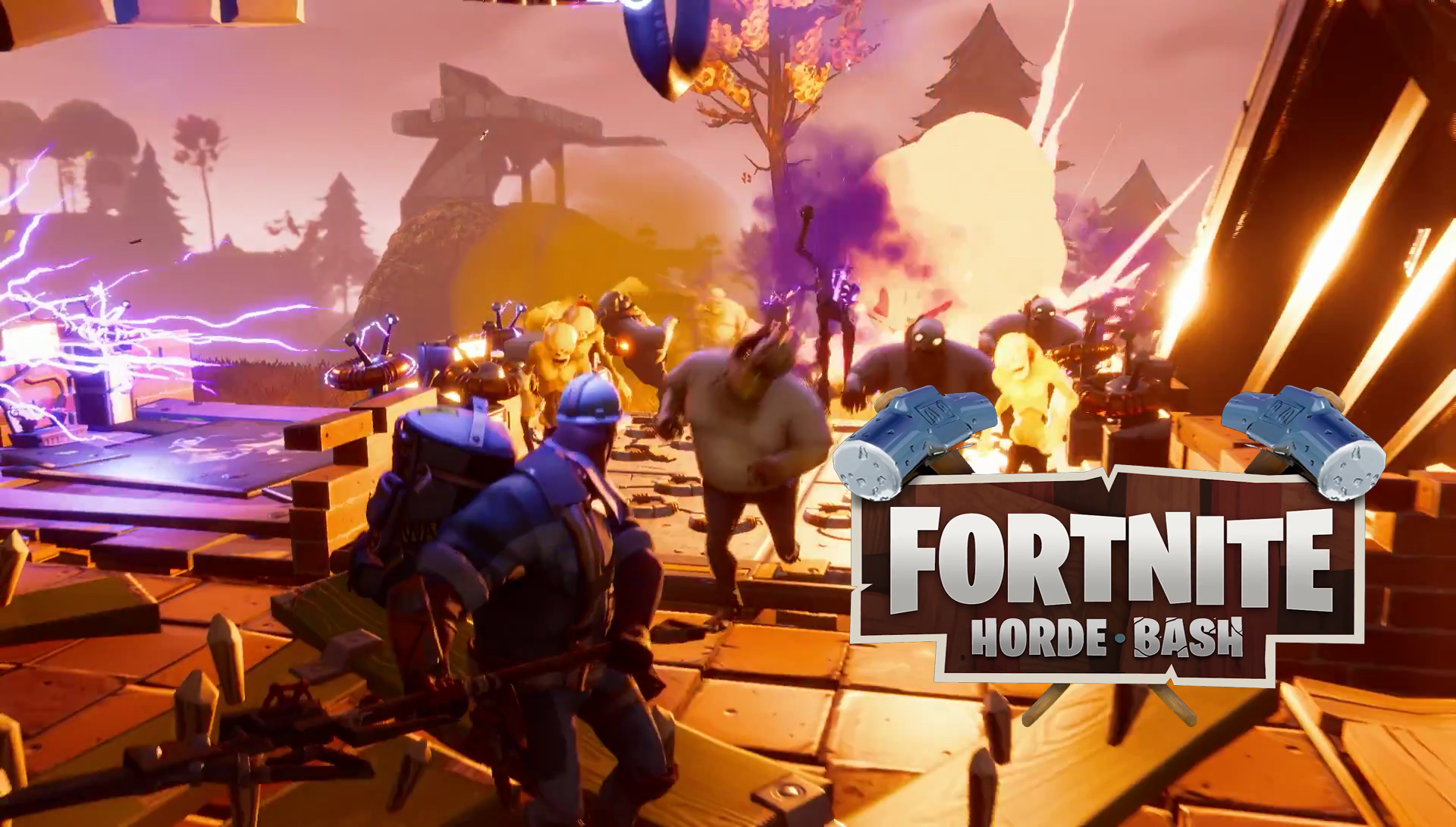 New Fortnite update brings Horde Bash, with new heroes, and
