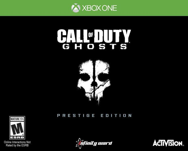 Call of Duty: Ghosts Prestige Edition now available for preorder for $199.99 USD