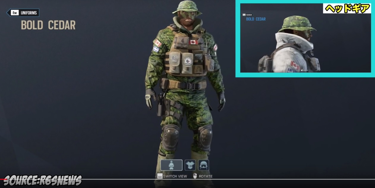 Rainbow Six Siege Leaked Headgear And Uniforms For Gamewatcher