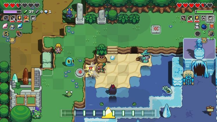 Cadence of Hyrule Zora Flippers - Where to Find Them?