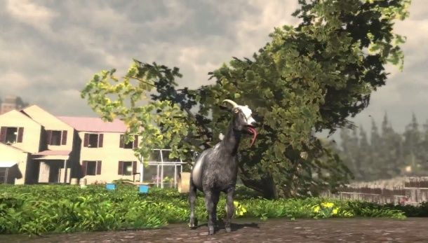 Witness the glory of the Goat Simulator launch trailer