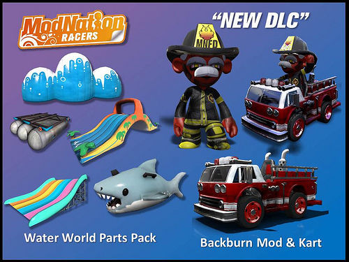 New Modnation Racers DLC available