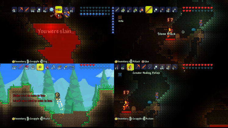 Terraria gets released on XBLA, PSN next week