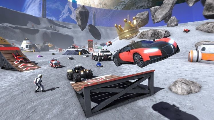 Crash Drive 3 features open-world stunt racing and crossplay when it smashes its way onto PC this July