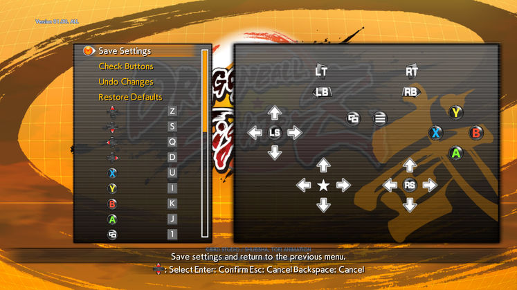 Dragon Ball FighterZ Key Binding Support Available For The PC Release