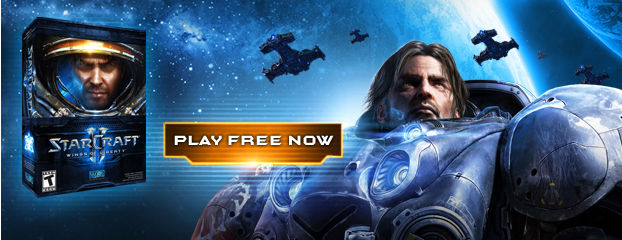 Starcraft II shareware version replaces demo
