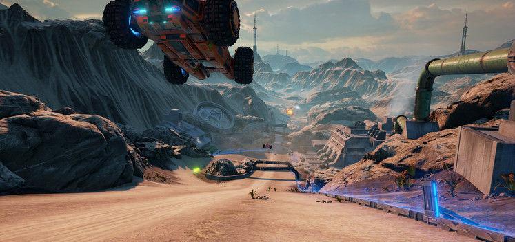 GRIP: Combat Racing Introduces Split-Screen