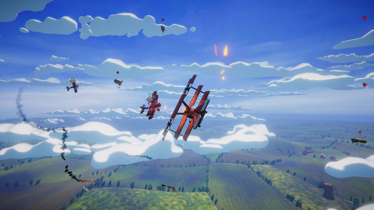 Prepare for Dogfighting Action with Red Wings: Aces of the Sky