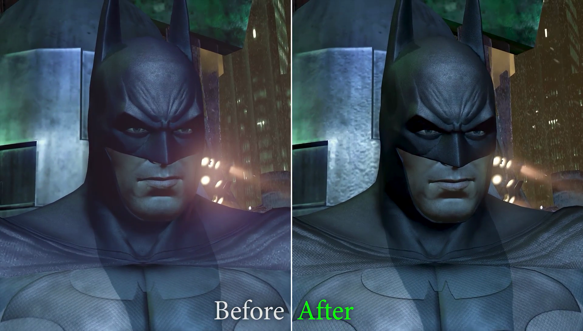 New Mod Adds HD Textures to Batman: Arkham City, Here's How