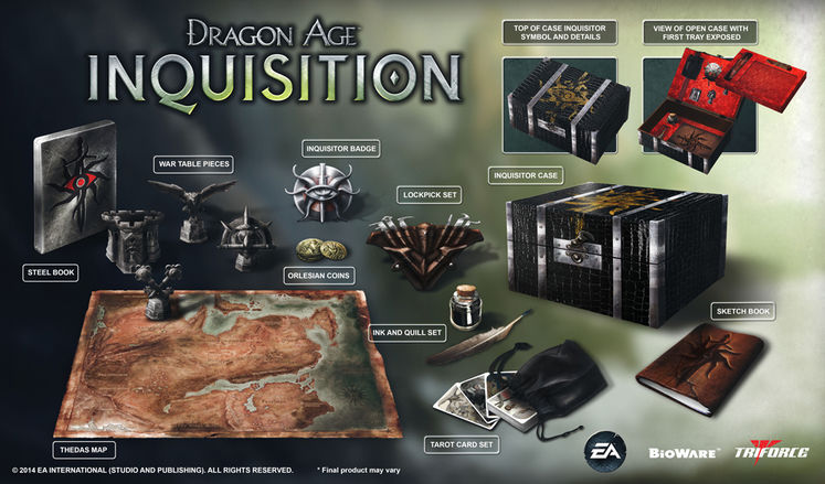 BioWare unveil Dragon Age: Inquisition Collector's Edition for $170
