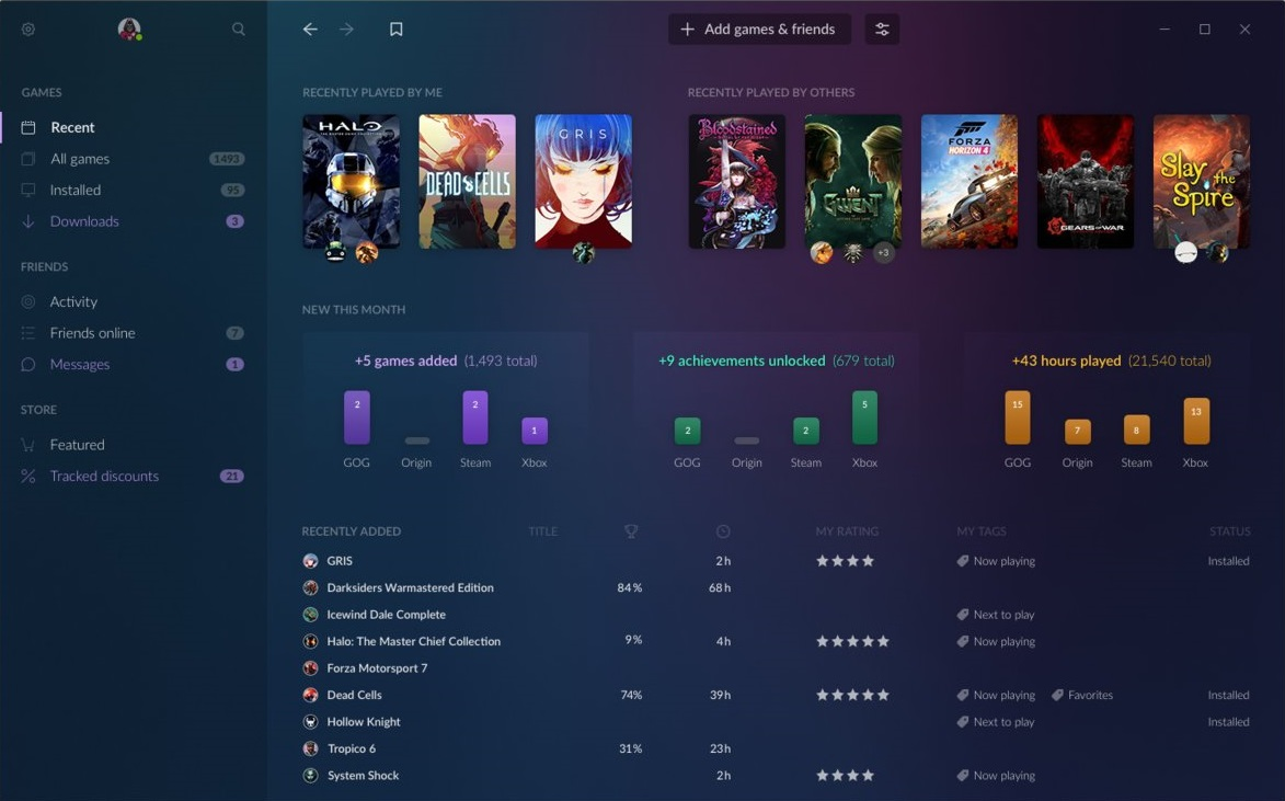 Xbox Games Pass for PC will work with GOG Galaxy 2 | GameWatcher