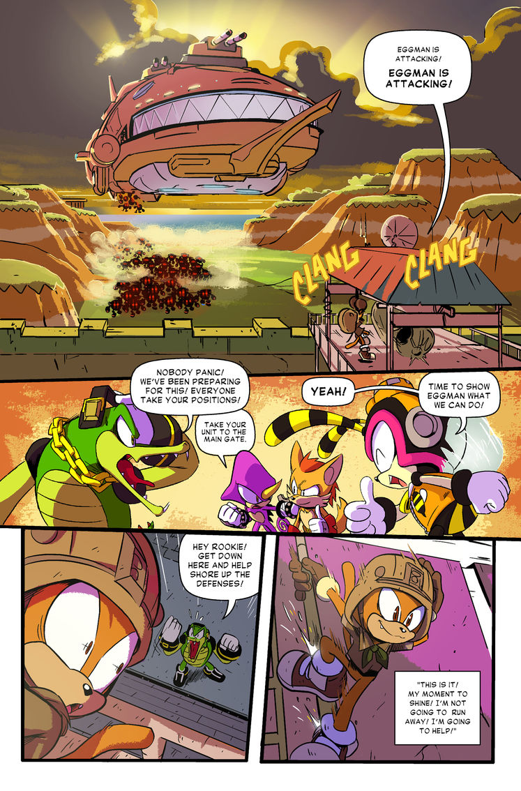 Read the Sonic Forces Prequel Comic For Free, Right Here <UPDATE: Issue #3 now available!>