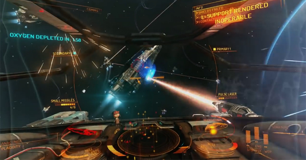 Elite: Dangerous alpha now supporting Oculus Rift, Track IR
